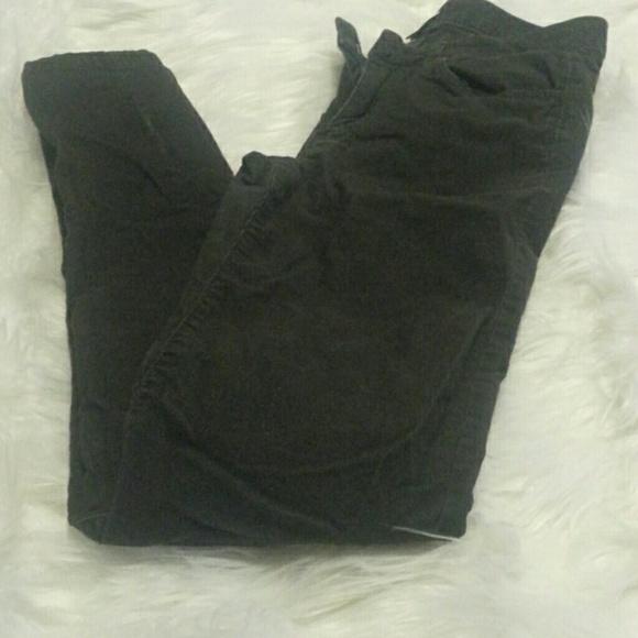 Dark green corduroy pants